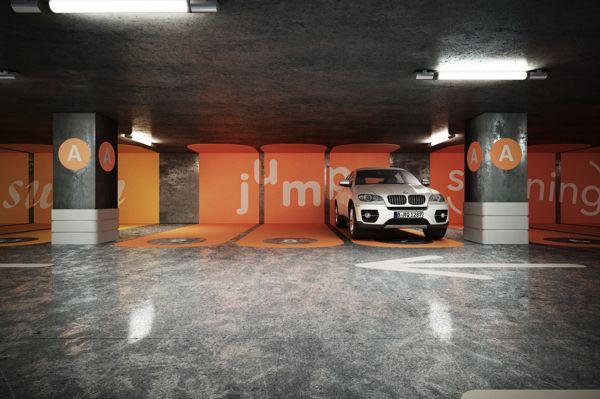 Parking concept by daniel andrew via behance egd for Garage concept auto