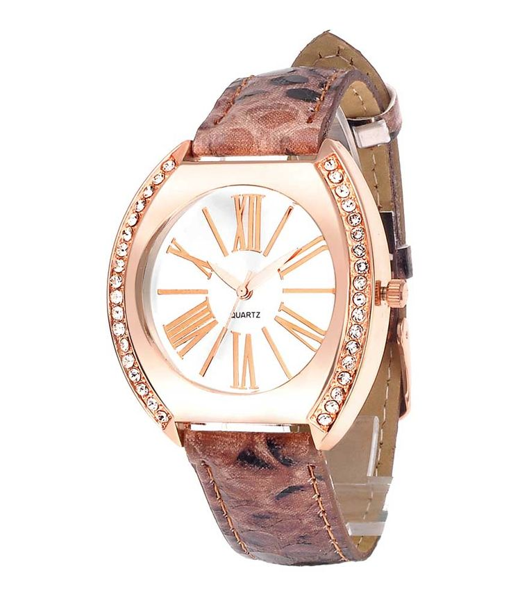 Loved it: Tropez Women's Golden Brown Crystal Studded Dial Watch, http://www.snapdeal.com/product/tropez-womens-golden-brown-crystal/650925409