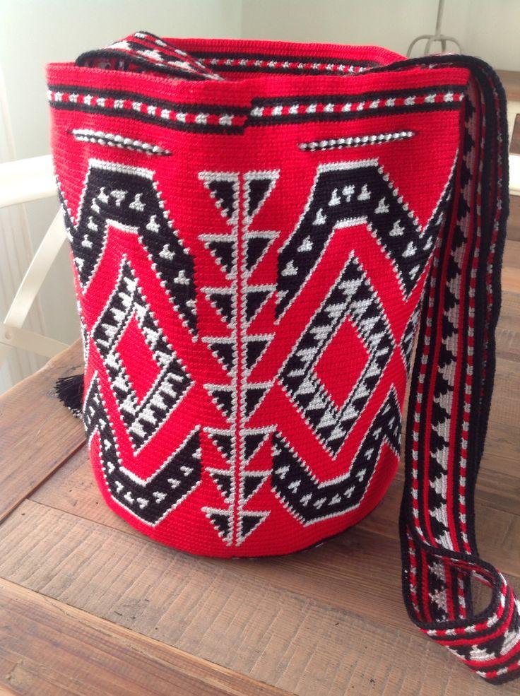 Mochila estilo Wayuu