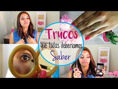 TRUCOS Y LIFE HACKS QUE TODA CHICA DEBERÍA SABER - Marcela Lince - YouTube