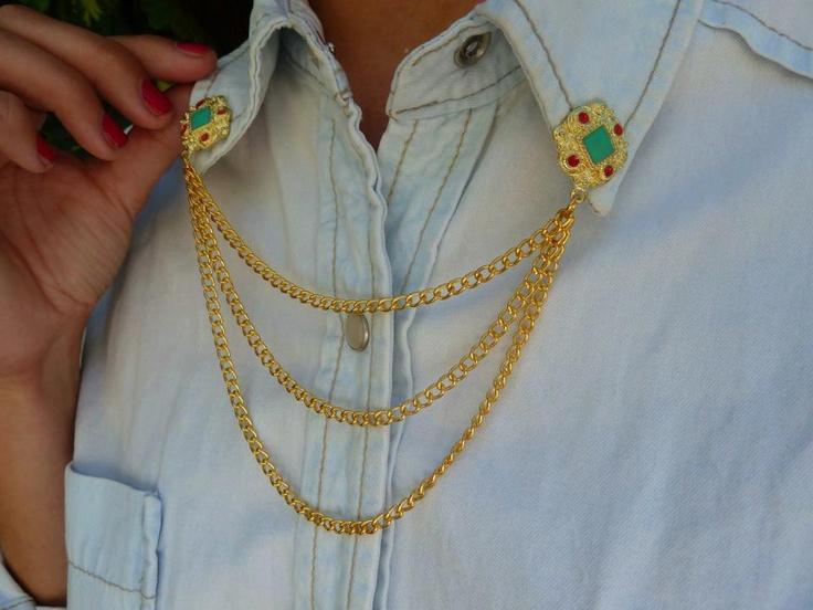 Apliques de camisa Maria Antonietta