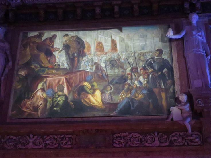 Incoronaizone di Gianfrancesco Gonzaga a Primo Marchese di Mantova