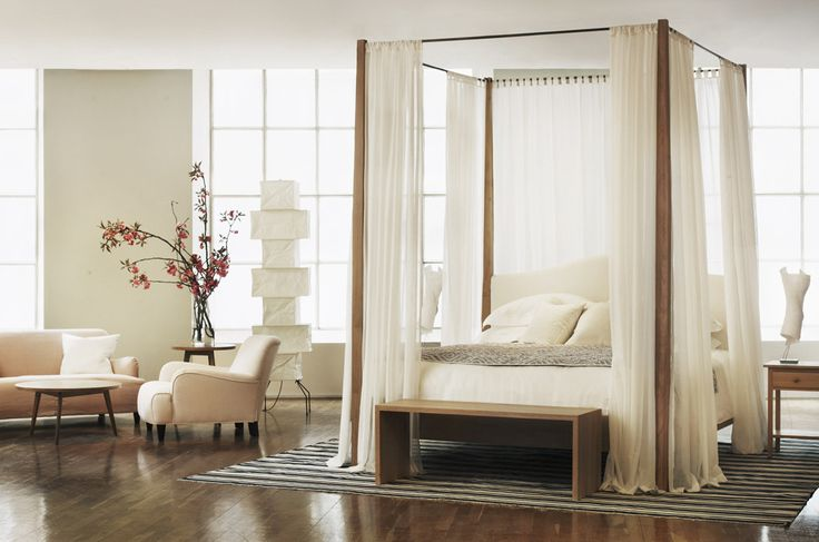 102 best london 39 s 100 best shops images on pinterest for High end canopy beds