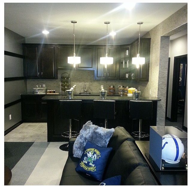 5 Must Haves For Creating The Ultimate Basement Home Theater: 17 Best Images About NFL Man Cave On Pinterest