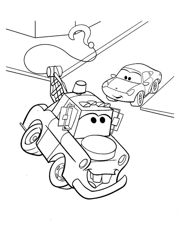 8 best Cars- Disney images by Coloring Fun on Pinterest | Colouring ...