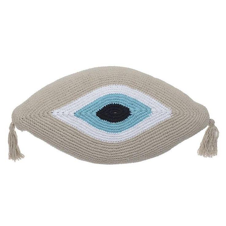 Macramme Cushion Cover - inart