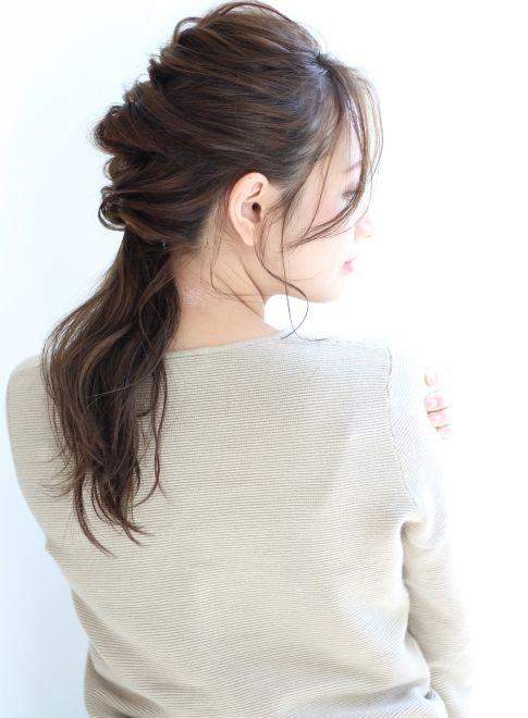前髪長めの大人ロングアレンジ【ZA/ZA AOYAMA】  http://www.beauty-navi.com/style/detail/59636?pint  ≪#arrange #hairstyle #アレンジ #ヘアスタイル #髪形 #髪型 #date #paty #wedding #cute #special #casual #yukata #kimono #makeup #オシャレ #浴衣 #着物 #結婚式 #デート #パーティー #おでかけ #トクベツ≫