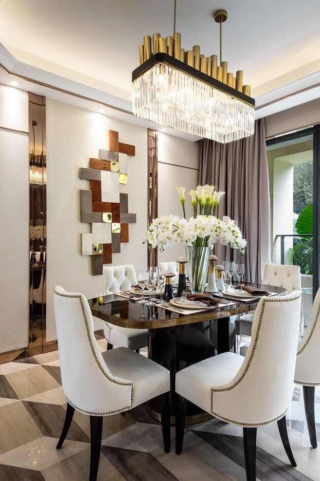 Comedores modernos 2018 ideas inspiradoras para tu hogar for Decoracion comedor moderno