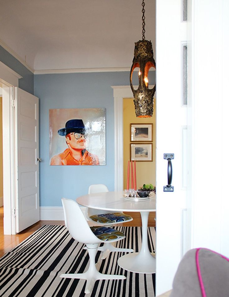 Quirky Bright Patterned Style In San Francisco
