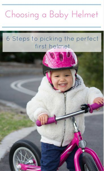 Looking for a baby bike helmet? Read this post for 6 things to keep in mind before going shopping.