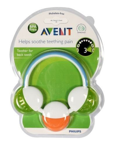 Avent - Teether For Back Teeth Buy Online at Best Price in India: BigChemist.com