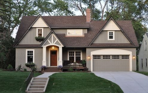 What does the paint color Benjamin Moore, Copley Gray HC-104 look like? See  here:  SIDING:  Photo by Sicora Design/Build - Look for traditional exterior design  inspiration Photo by Siena Custom Builders, Inc. - Discover traditional  exterior design inspiration Photo by Living Space Landscap