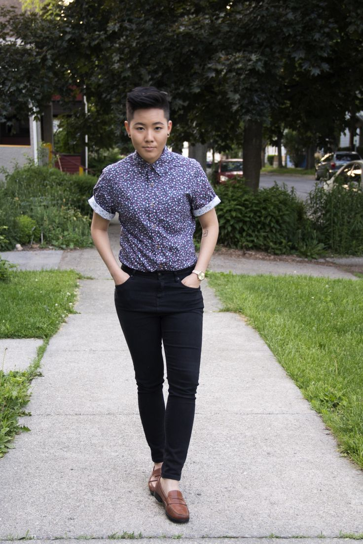 """but-im-a-tomboy: """" I've accepted an offer to walk for queer brand Haus of JAG & Co. for #rainbowfashionweek in NYC. 5'1"""" asian queer model what's good?! Tix and info @ rainbowfashionweek.com/tickets Follow my queer fashion blog @..."""
