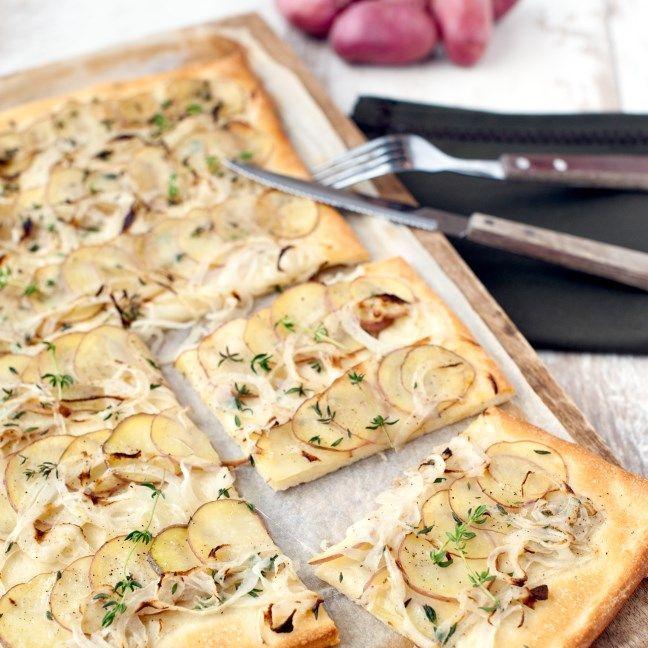 TF Pizza Patate met aardappel, ui en parmezaanse kaas