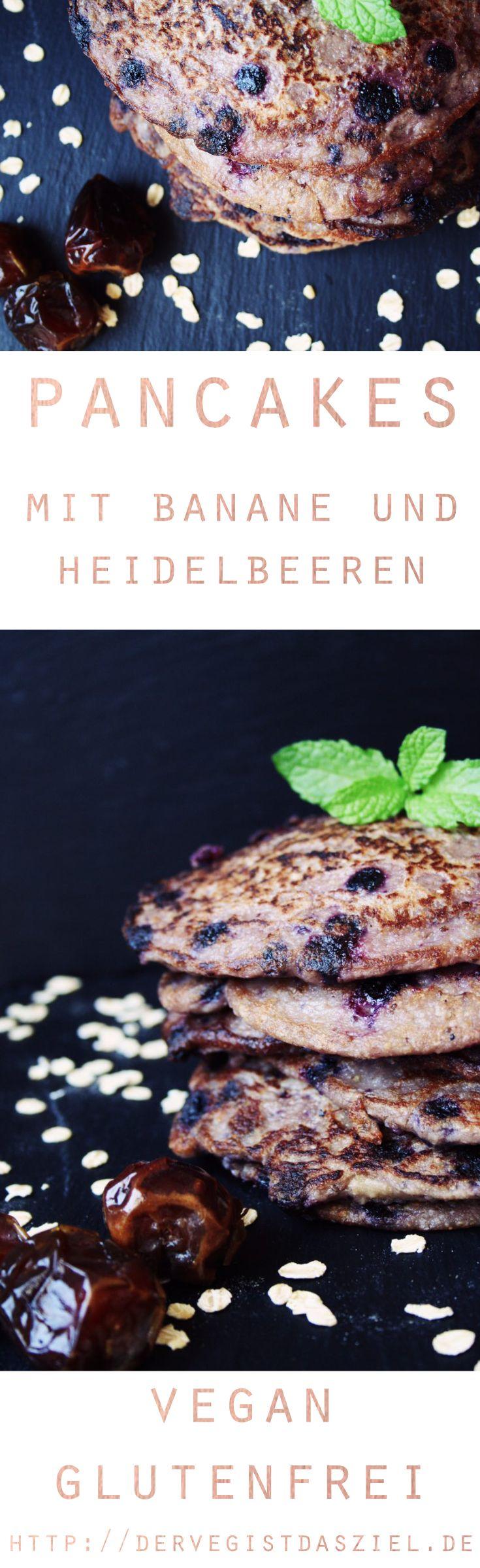 Pancakes, vegan und glutenfrei