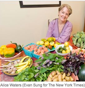 alice waters in the green kitchen 55 best images about chef waters california on 9011