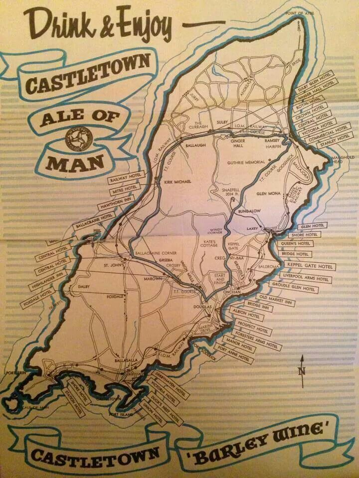 Old advert for Castletown Brewery 47 best
