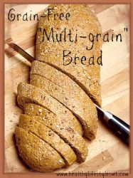 """Multigrain"" Grain-Free Paleo Bread 