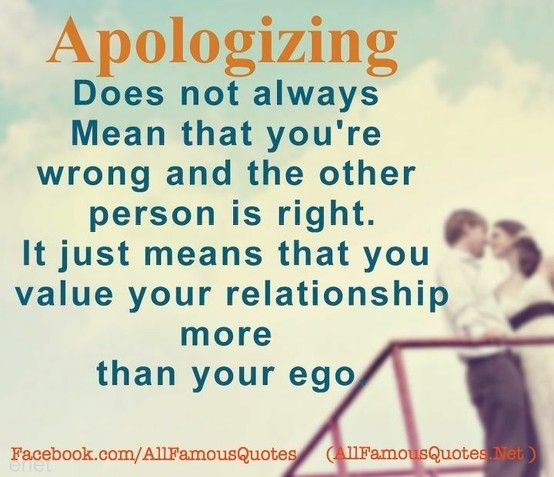 28 Best Apology Quotes Images On Pinterest