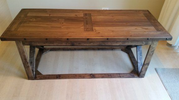 Rustic Wood Coffee Table With Images Wood Coffee Table Rustic Coffee Table Coffee Table Wood