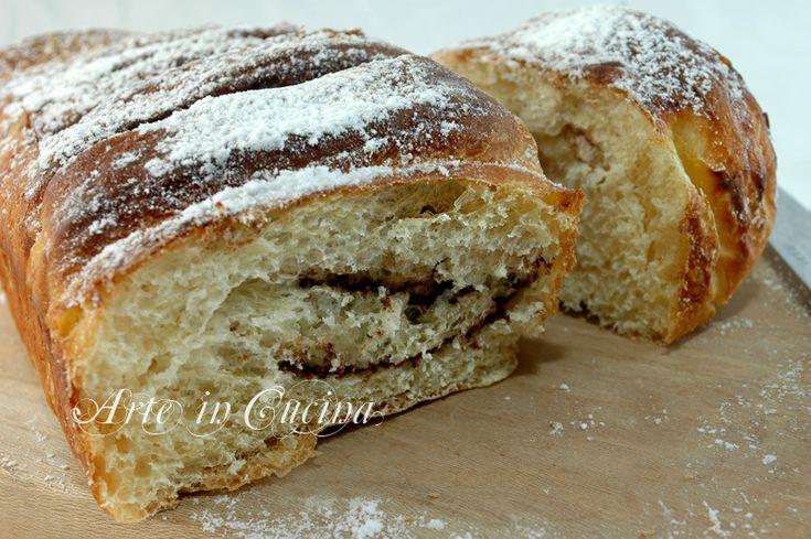 Plumcake per colazione con impasto brioche, soffice e leggero,nutella o marmellata, ideale per merenda, feste di compleanno bambini, plumcake senza burro