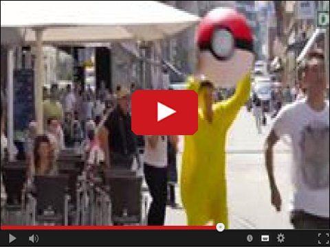 #Pokemon polują na ludzi