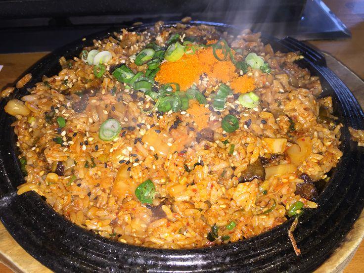 Quarters Korean BBQ, L.A.,CA  Kimchi Fried Rice
