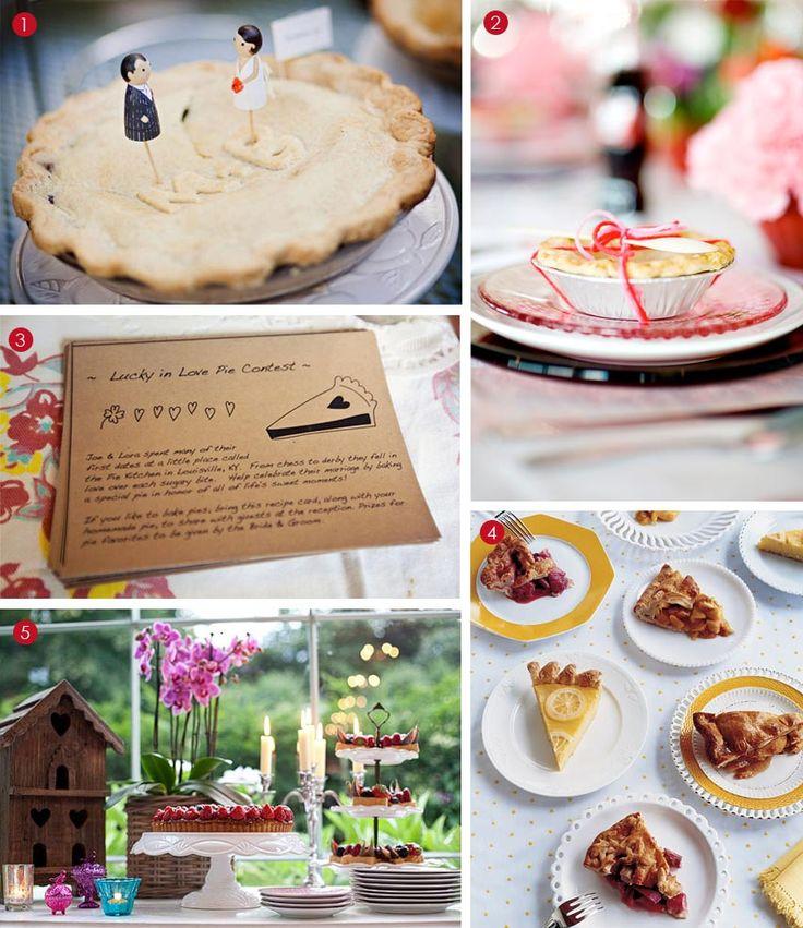 Or Pie Wedding Favor