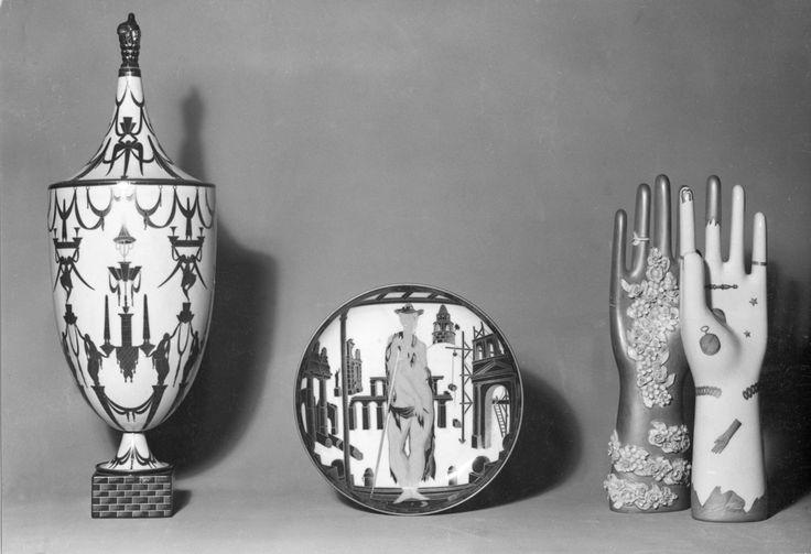 Ceramiche/Ceramics. Design di/by GIO PONTI per/for Richard Ginori, Manifattura di Doccia, 1923. (hva)