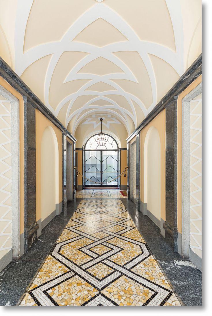 Villa necchi campiglio by piero portaluppi platform - Find This Pin And More On Entryways By Luccichenti