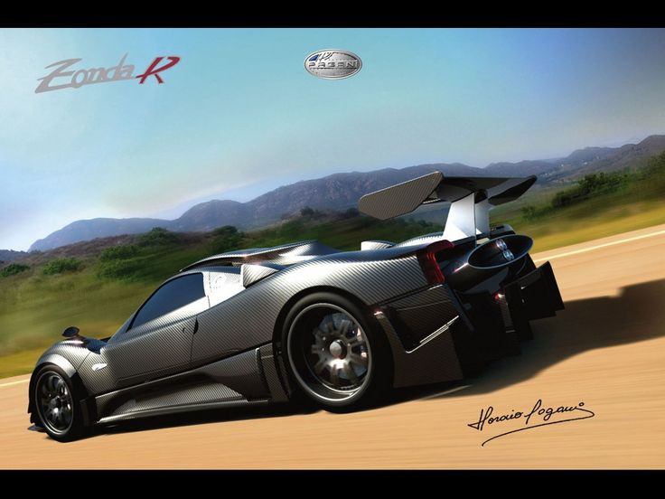 Attirant Wrap Your Car And Preserve Your Caru0027s Original Manufactureru0027s Paint Job!  Plus The Matte Black Finish Really Makes This Pagani Zonda R Even More  Sleek!