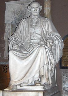 James Whiteside- Statue of James Whiteside by Albert Bruce-Joy in St Patrick's Cathedral, Dublin. Lord Chief Justice of Ireland