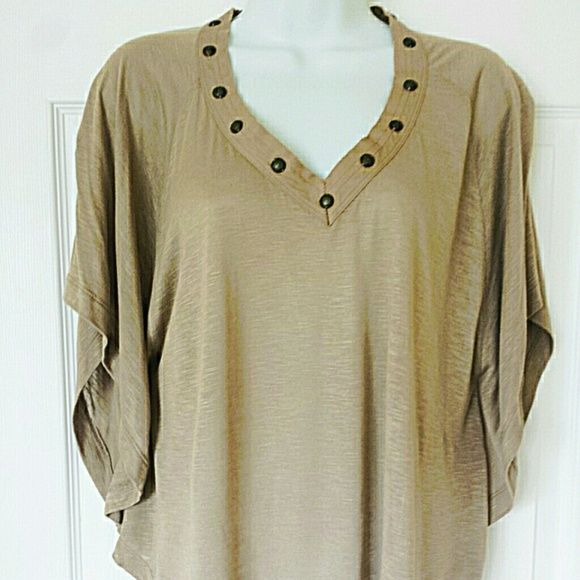 Nine West Batwing Top Pre-owned Studded Batwing Top by Nine West American Vintage. Size S. Worn once. Adorable with dark denim bootcut jeans and wedges. Nine West Tops