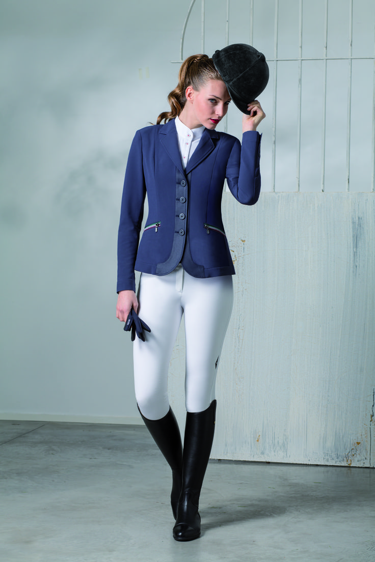 Woman Competition Jacket Linda With Flag Details On The