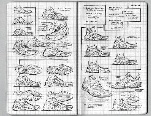 Matt DeAlmeida's New Balance Sketchbook