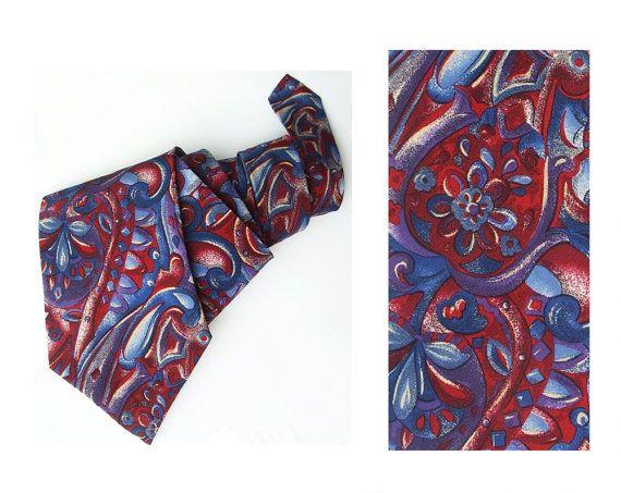 Pierre Cardin Paris Boho tie gift for him men's by MensSilk