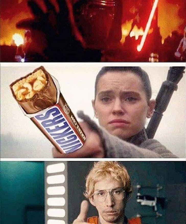 Kylo Ren And Rey Memes Cbr Star Wars Memes Funny Star Wars Memes Star Wars Humor