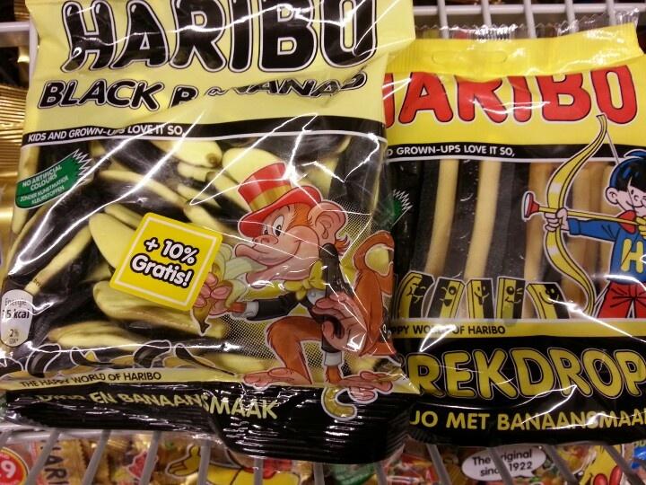 Yellow black sweets