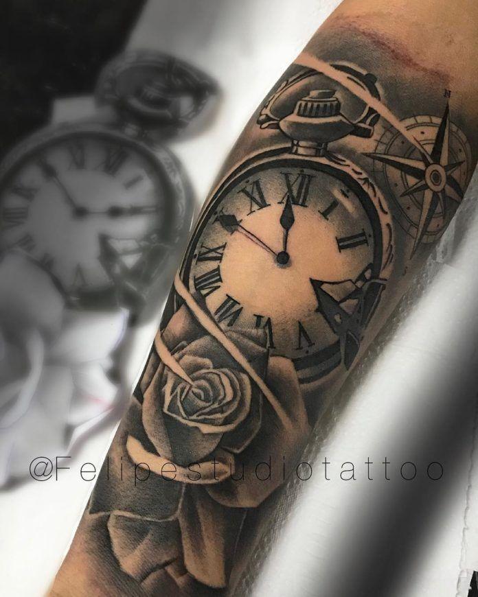 35++ Tatouage homme avant bras rose ideas in 2021