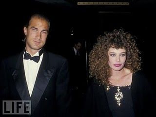 Steven Seagal Family | Steven Seagal and ex-wife Kelly Lebrock
