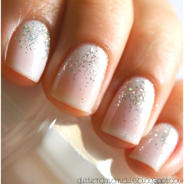 Nails for the wedding day!- #Weddingbee for #TheLab2013: http://ht.ly/cYt6T