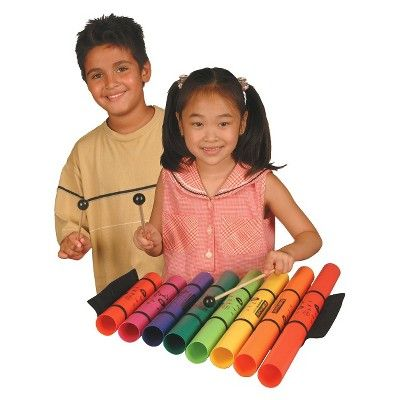 Boomwhackers Wack Pack Bell Tuned Percussion Tubes (EM757),