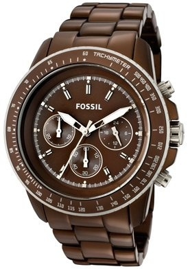 Fossil Women's CH2746 Brown Chronograph Watch