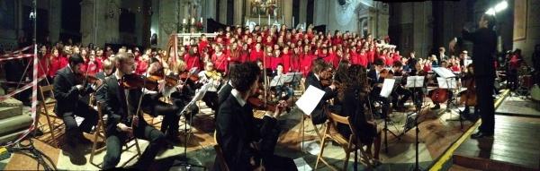 Concerto di Natala nella chiesa di S. Nicolò