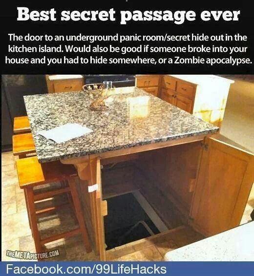 Secret hide away