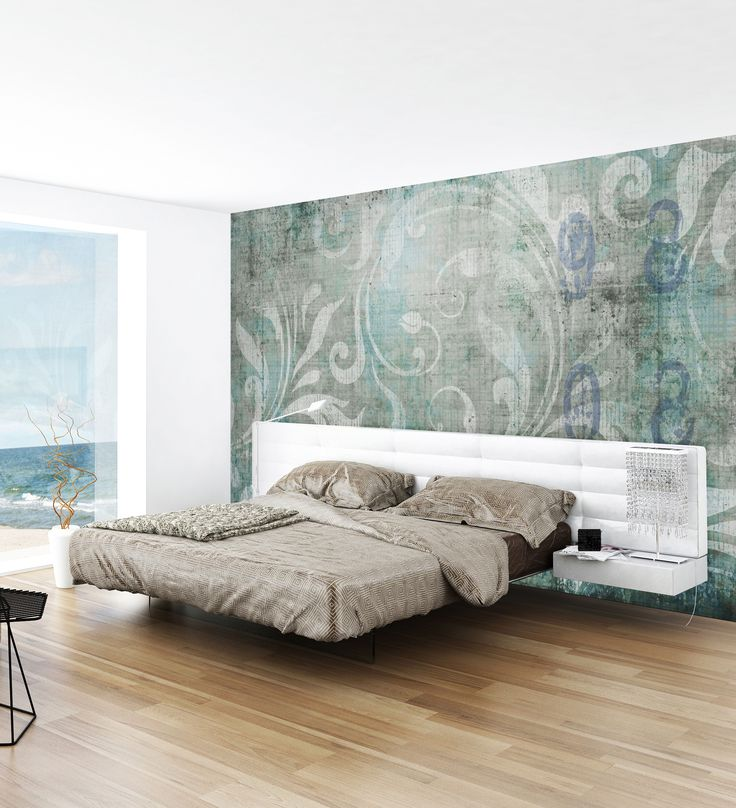 Panoramic wallpaper ROMANTIC Concrete Collection by N.O.W. Edizioni