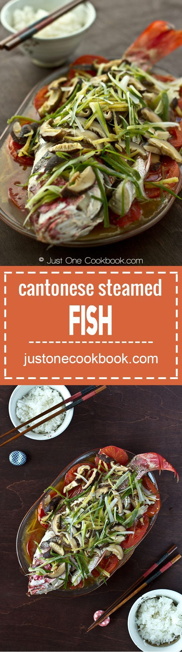 Cantonese Steamed Fish | Easy Japanese Recipes at JustOneCookbook.com
