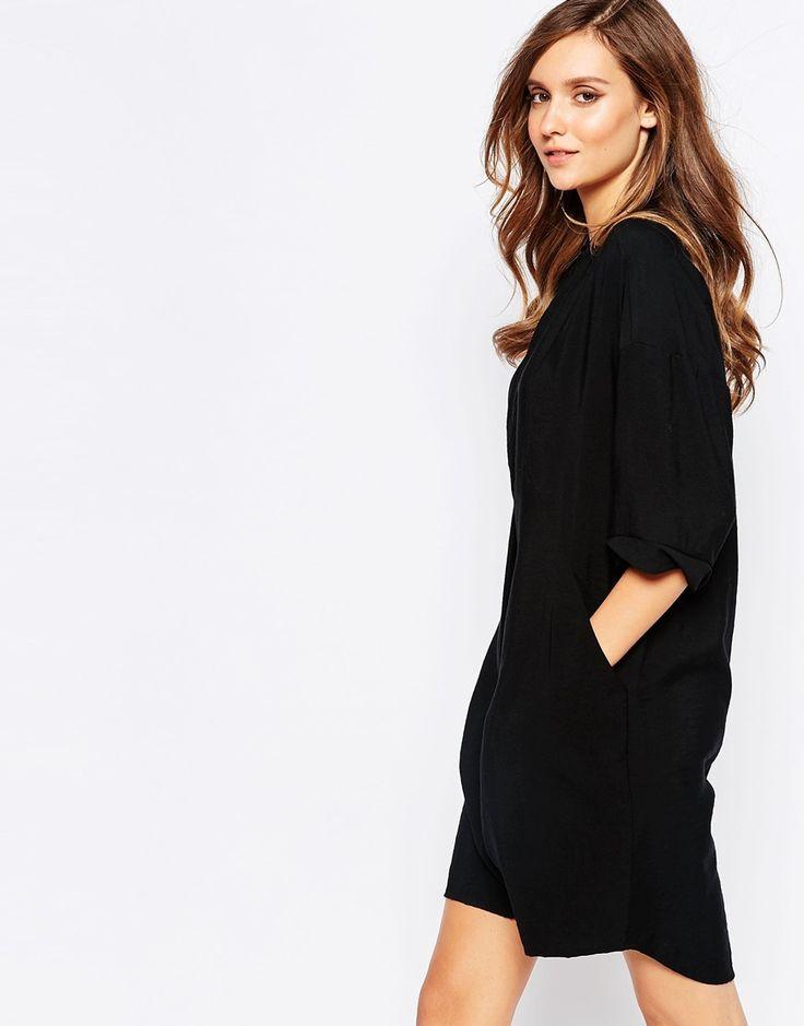 Whistles Plain Longline Shirt Dress