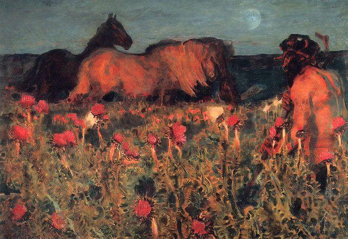 Night 1900 Mikhail Vrubel