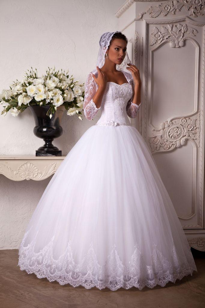 Свадебное платье Саламея